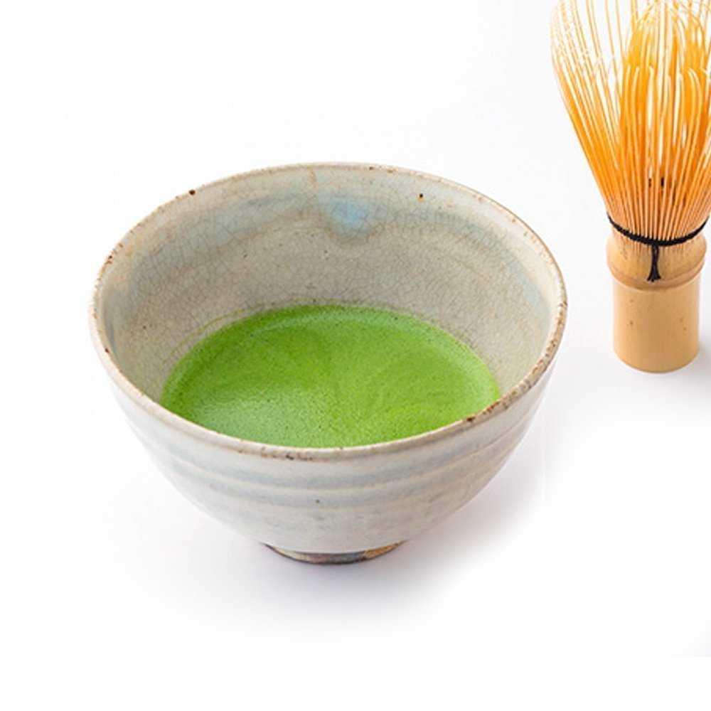matcha czyli sproszkowana zielona herbata