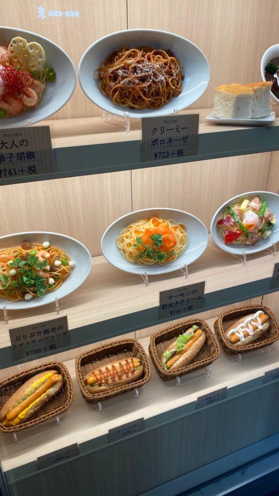 repliki lub atrapy jedzenia w Japonii nazywane shokuhin sampuru